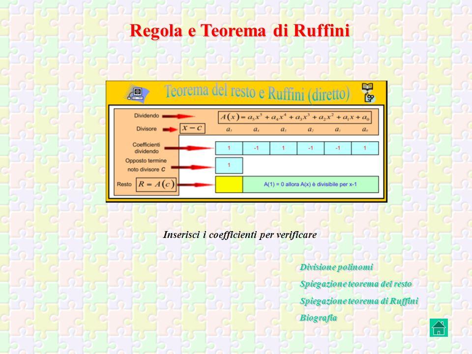 Cenni Storici RUFFINI PAOLO (Valentano, Viterbo 1765 – Modena 1822), matematico italiano.