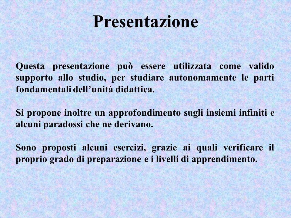 Questa presentazione può essere utilizzata come valido supporto allo studio, per studiare autonomamente le parti fondamentali dellunità didattica. Si
