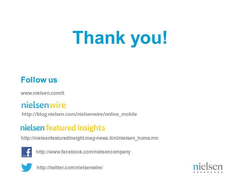 Nielsen Economic and Media Outlook - ottobre 2012 http://www.facebook.com/nielsencompany Follow us http://nielsenfeaturedinsight.mag-news.it/nl/nielse