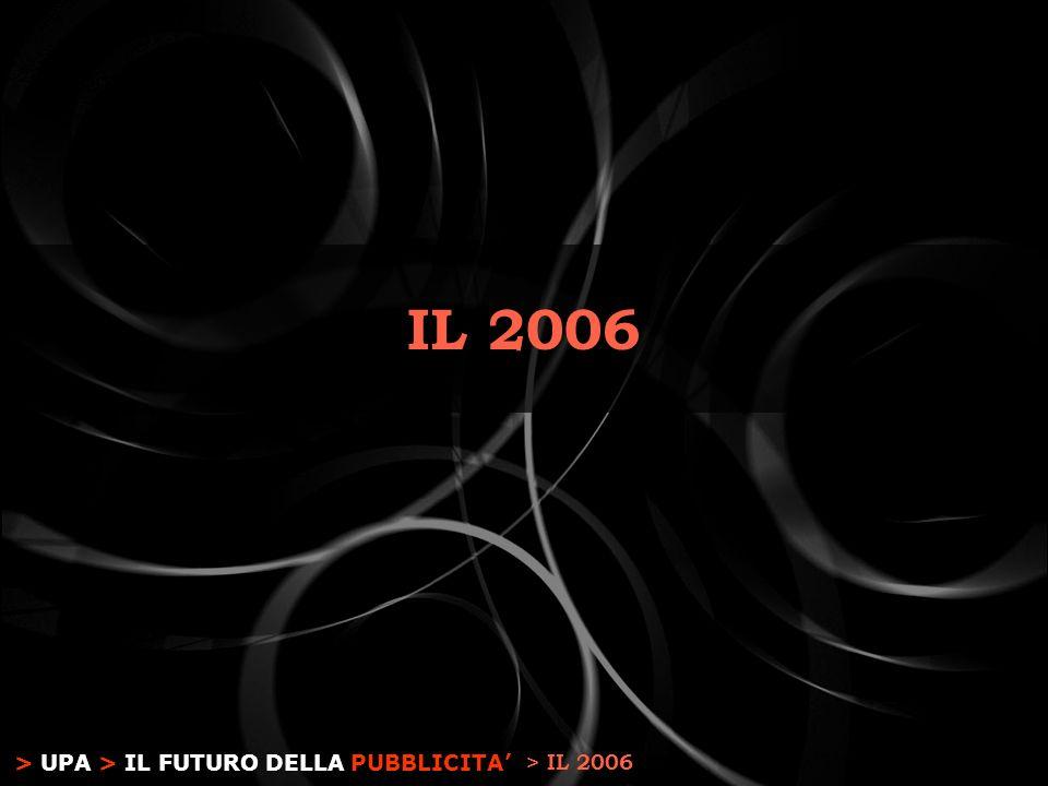 > UPA > IL FUTURO DELLA PUBBLICITA IL 2006 > IL 2006