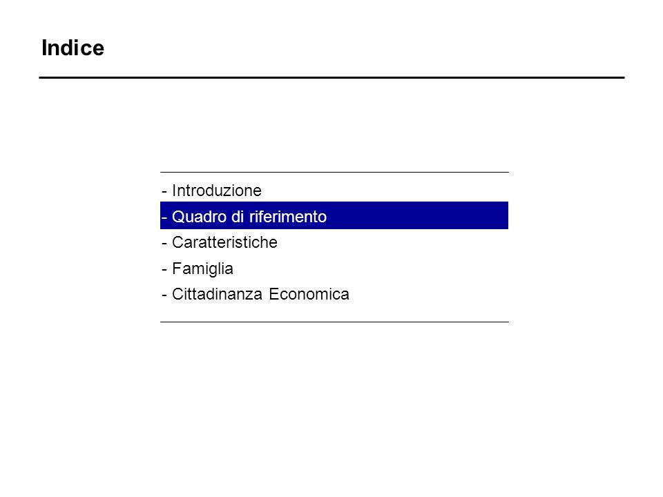 Quadro di riferimento nUn quarto degli immigrati risiedono in Lombardia nIn Lombardia, gli immigrati rappresentano il 5% della popolazione nLa maggioranza degli immigrati lombardi provengono da paesi a forte pressione migratoria