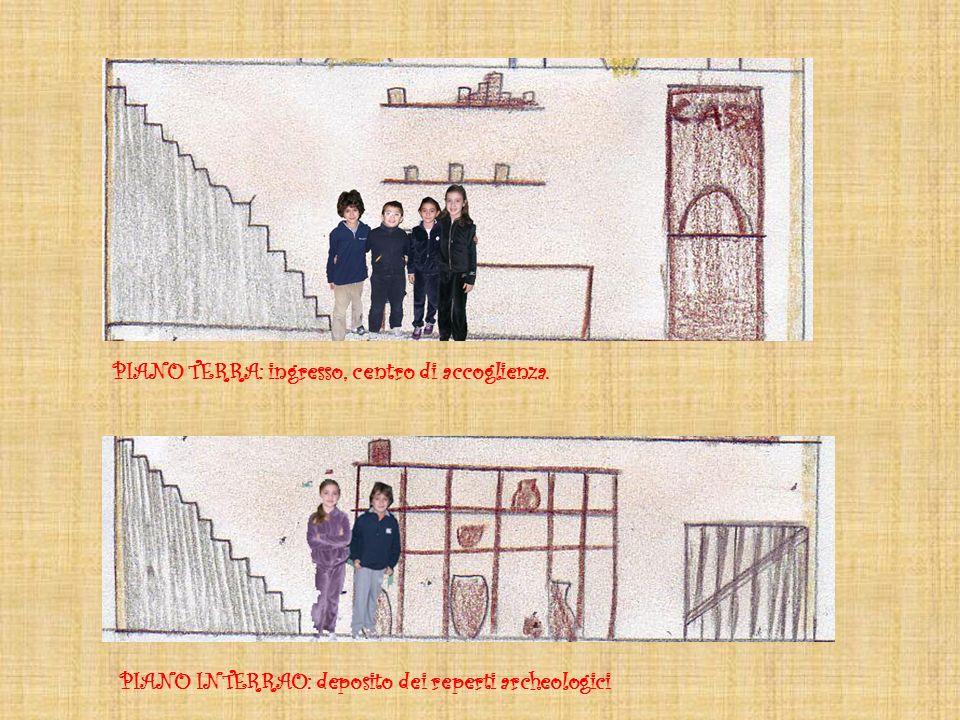 ULTIMO PIANO: uffici e direzione del museo SALE ESPOSITIVE: dove si possono ammirare tutte le meraviglie del passato