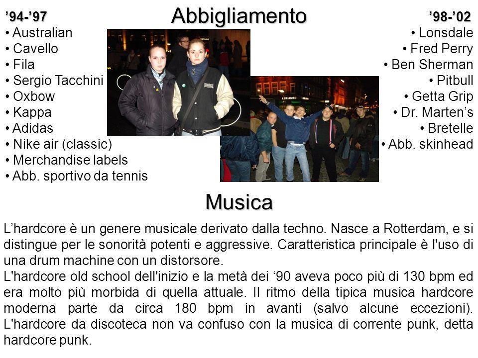 Italia, 1980-1989 Torino Milano Genova Roma Bologna Toscana Veneto 1985-1990Campanilismo calcistico Lombardia, VenetoForte presenza dellestrema destra Mass media Stigmatizzano lintero movimento S.H.A.R.P.