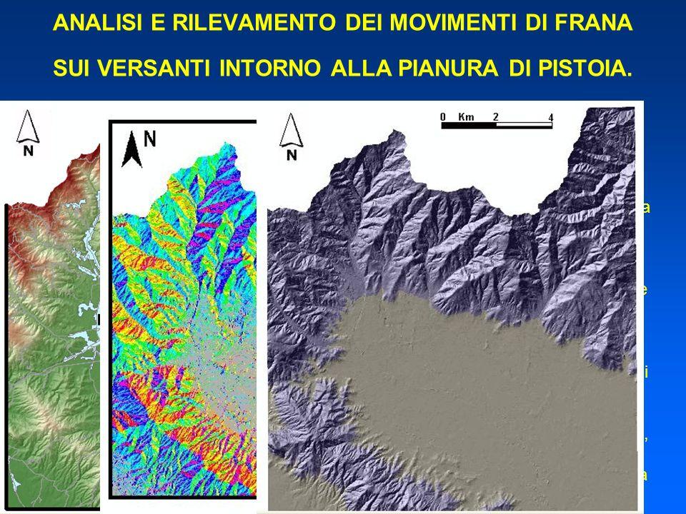 Dalla combinazione tra carte delle pendenze ottenute dallelaborazione della topografia con Linventario dei fenomeni franosi Fornito dallAutorità di Ba