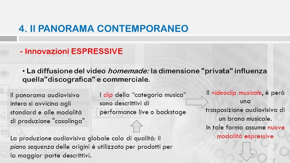 - Innovazioni ESPRESSIVE La diffusione del video homemade: la dimensione