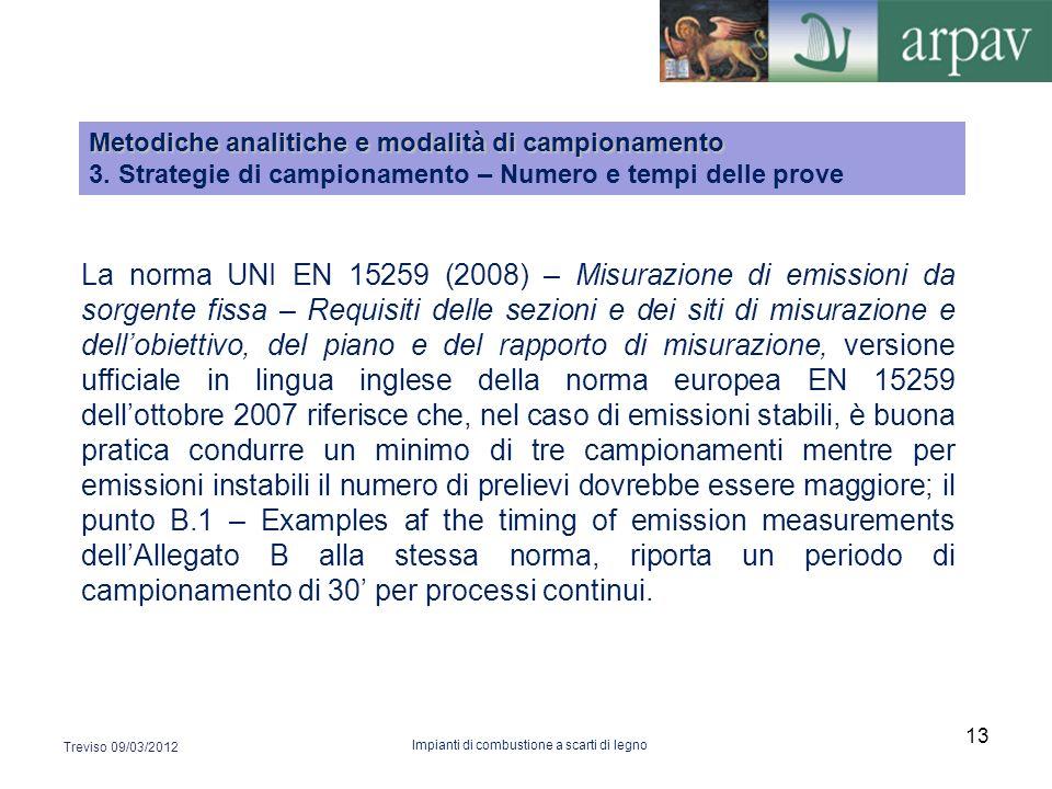 La norma UNI EN 15259 (2008) – Misurazione di emissioni da sorgente fissa – Requisiti delle sezioni e dei siti di misurazione e dellobiettivo, del pia