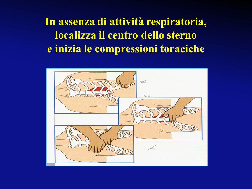 Se la respirazione è presente: metti la vittima in posizione laterale di sicurezza controlla che continui a respirare Posizione laterale di sicurezza