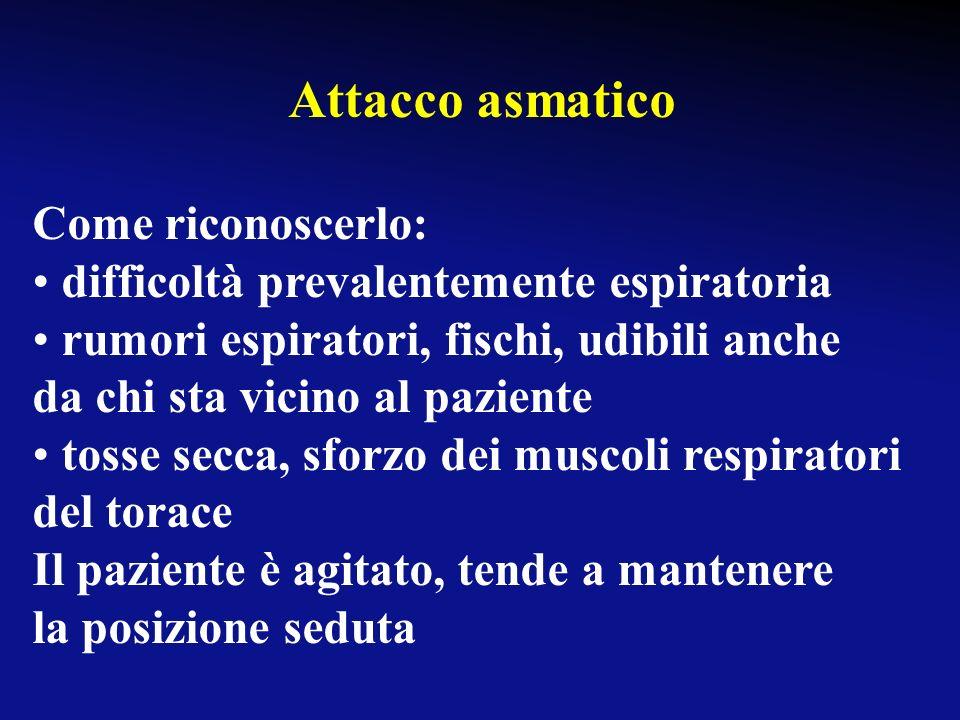 Attacco asmatico Cosè: è una difficoltà respiratoria improvvisa, causata da spasmo della muscolatura bronchiale, con conseguente riduzione del calibro