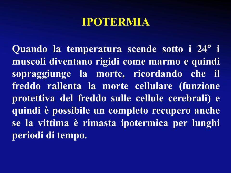 Principi di base di soccorso sul luogo dellevento tempestività dellintervento evitare che il paziente si raffreddi ulteriormente: protezione dal vento
