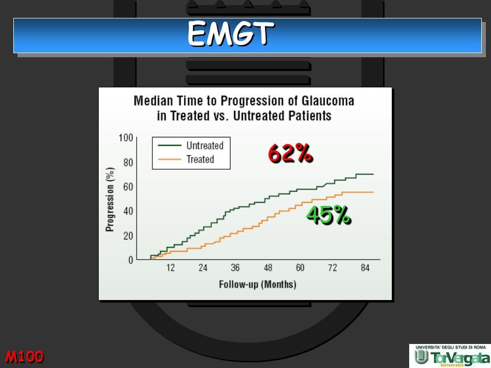 EMGT 45%45% 62%62% M100