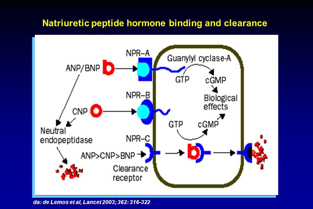 Storti et al, Clin Chem Lab Med 2004; 42: 1178-1185 AxSYM BNP vs Biosite Triage BNP Analisi delle differenze