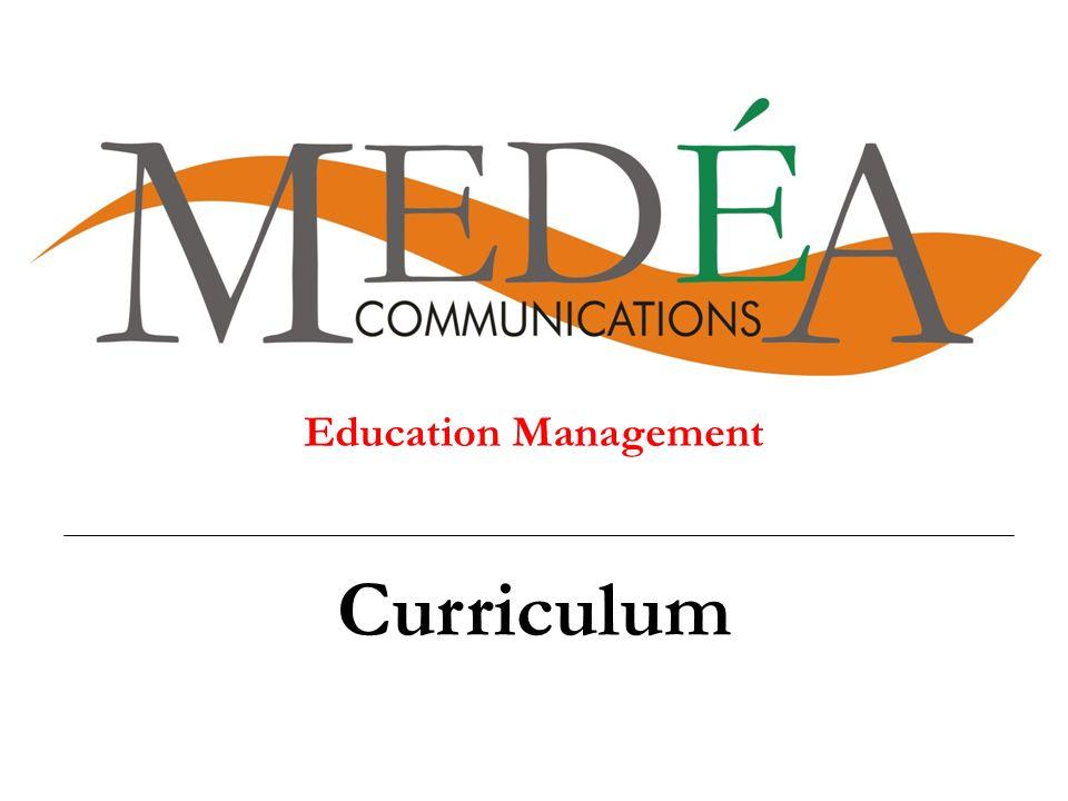 Education Management Curriculum