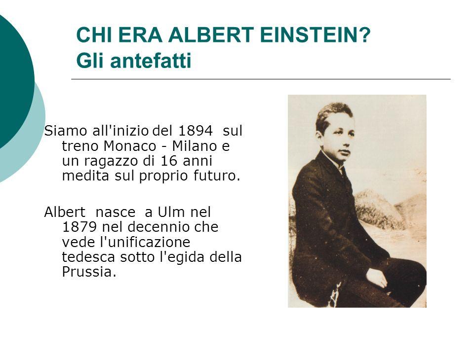 CHI ERA ALBERT EINSTEIN.