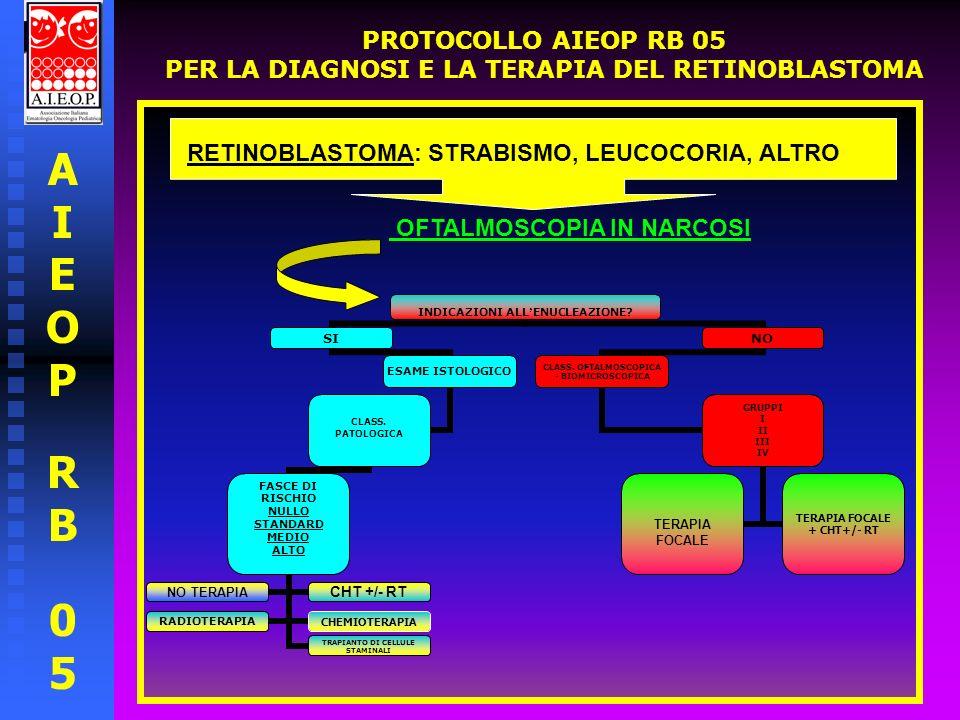 AIEOPRB05AIEOPRB05 PROTOCOLLO AIEOP RB 05 PER LA DIAGNOSI E LA TERAPIA DEL RETINOBLASTOMA