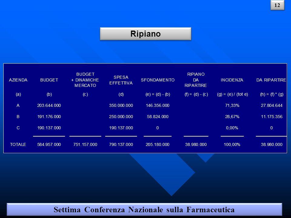 Ripiano Settima Conferenza Nazionale sulla Farmaceutica 12