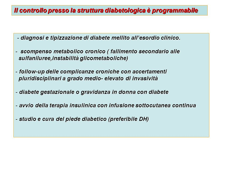 diagnosi e tipizzazione di diabete mellito allesordio clinico. - diagnosi e tipizzazione di diabete mellito allesordio clinico. - scompenso metabolico