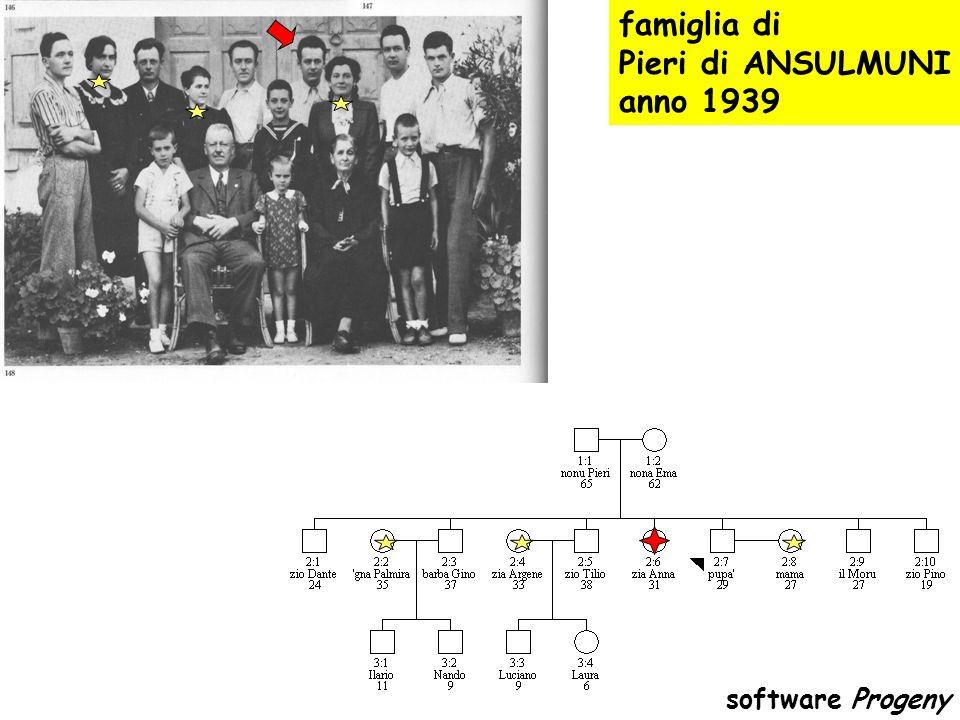 e se il pedigree e poco significativo ? prelievo del 15/9/2004 referto del 11/3/2005