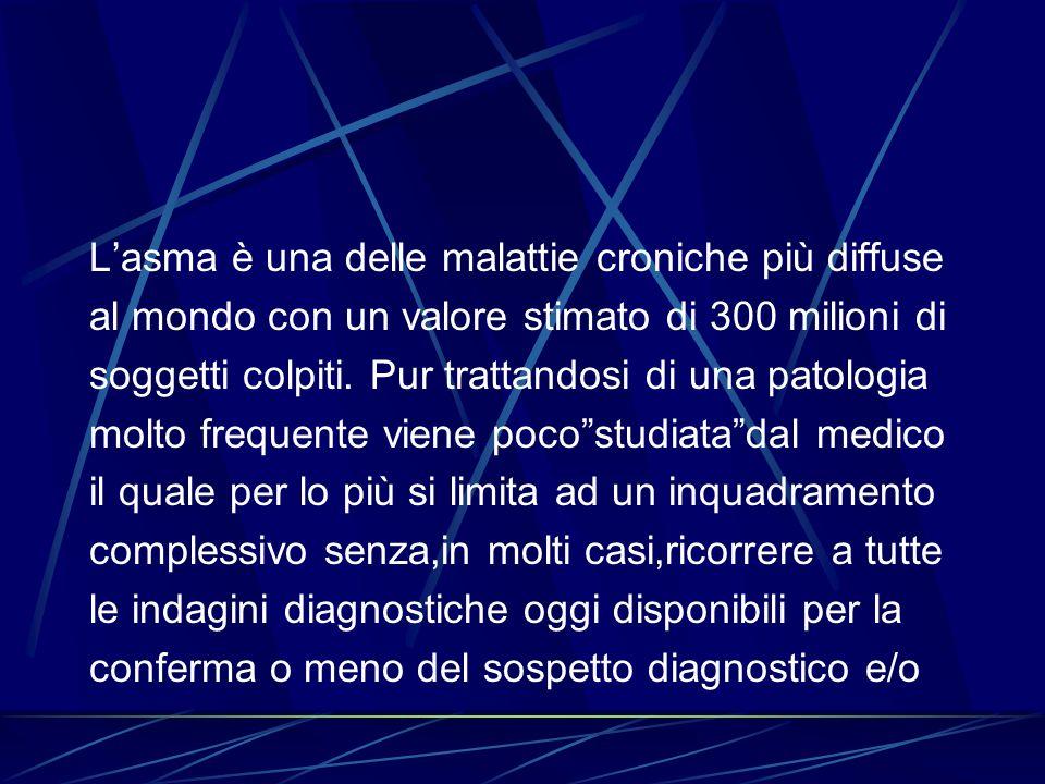 La determinazione del Prist,è stata ridimensionata in questi ultimi anni sia per la scarsa correlazione tra il livello dell IgE sieriche e sintomatologia clinica sia per il riscontro di alti livelli di IgE in altre condizioni patologiche (parassitosi intestinale – linfomi).Il ricorso al Rast è giustificato solo quando i test cutanei non hanno fornito una risposta esauriente.