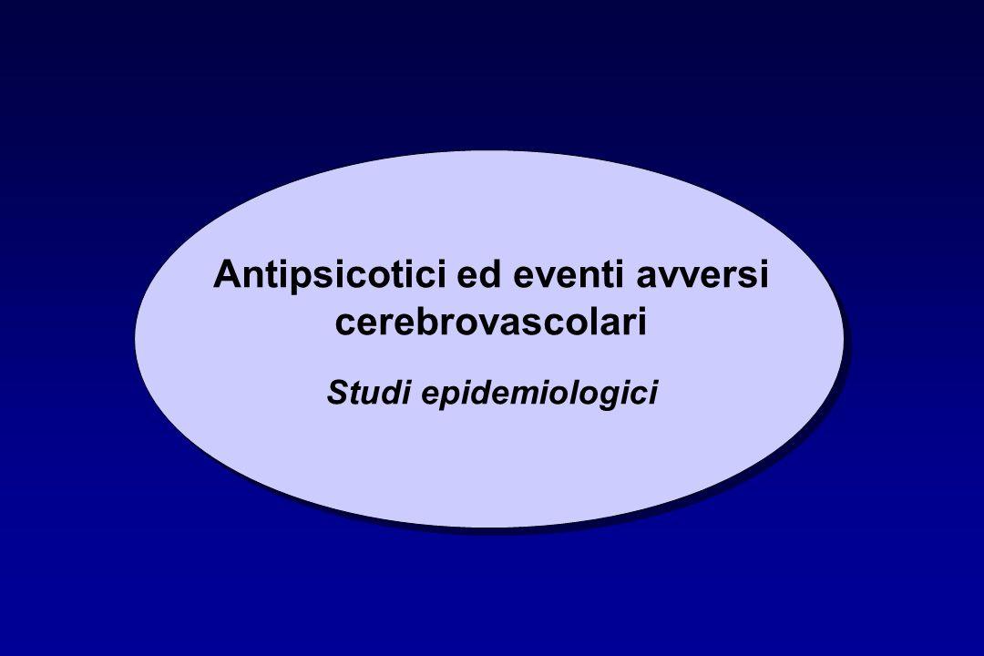 Antipsicotici ed eventi avversi cerebrovascolari Studi epidemiologici