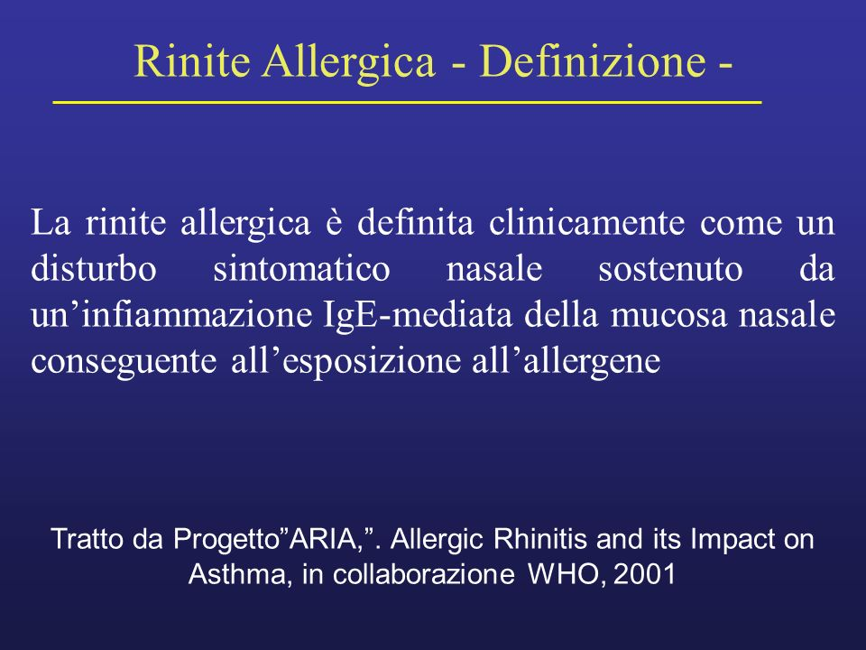 Rinite e asma one airway disease Pneumologo Allergologo ORL