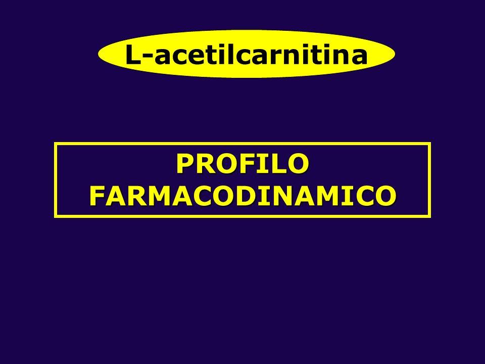 PROFILO FARMACODINAMICO L-acetilcarnitina