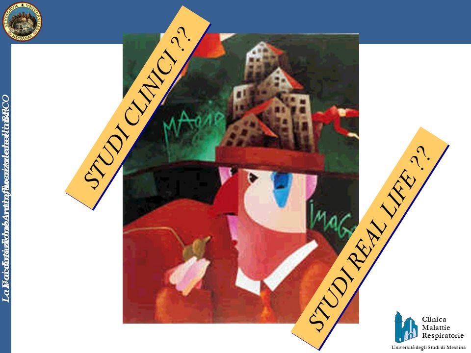 Clinica Malattie Respiratorie Università degli Studi di Messina Dai dati di laboratorio ai trials clinici La Vaccinazione Antinfluenzale nella BPCO ST