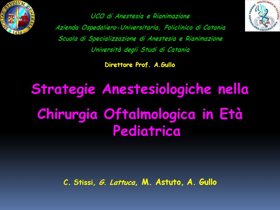 Welcome to the magic world…of the pediatric anesthesia ! Ronald S. Litman 2004