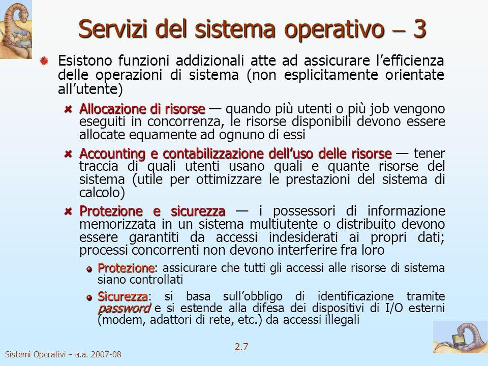 2.28 Sistemi Operativi a.a.