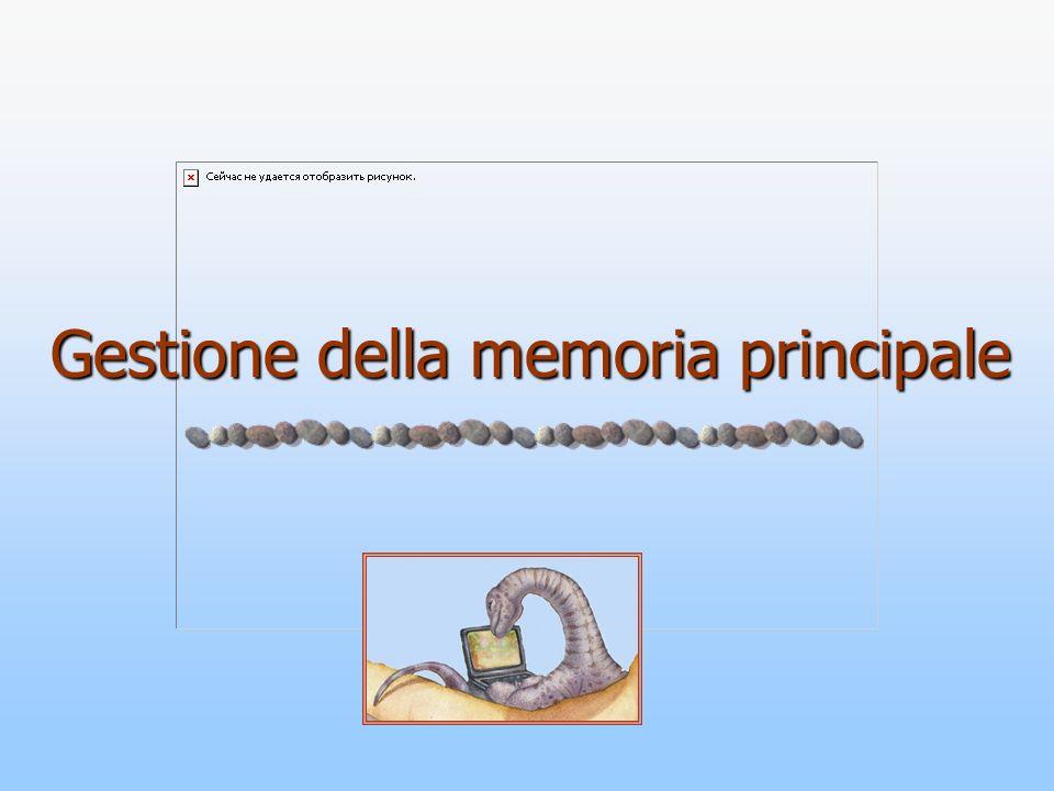 Gestione della memoria principale