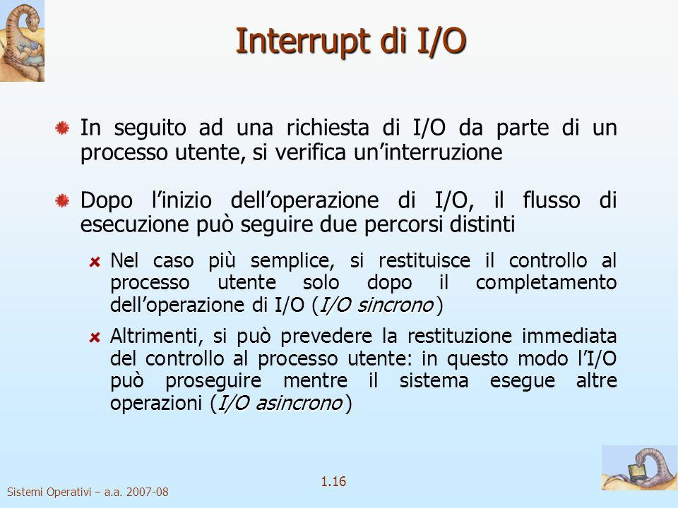 1.16 Sistemi Operativi a.a.