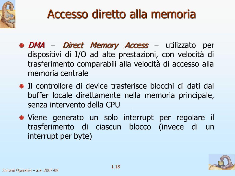 1.18 Sistemi Operativi a.a.