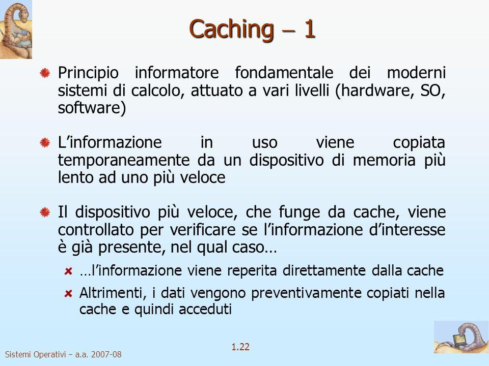 1.22 Sistemi Operativi a.a.