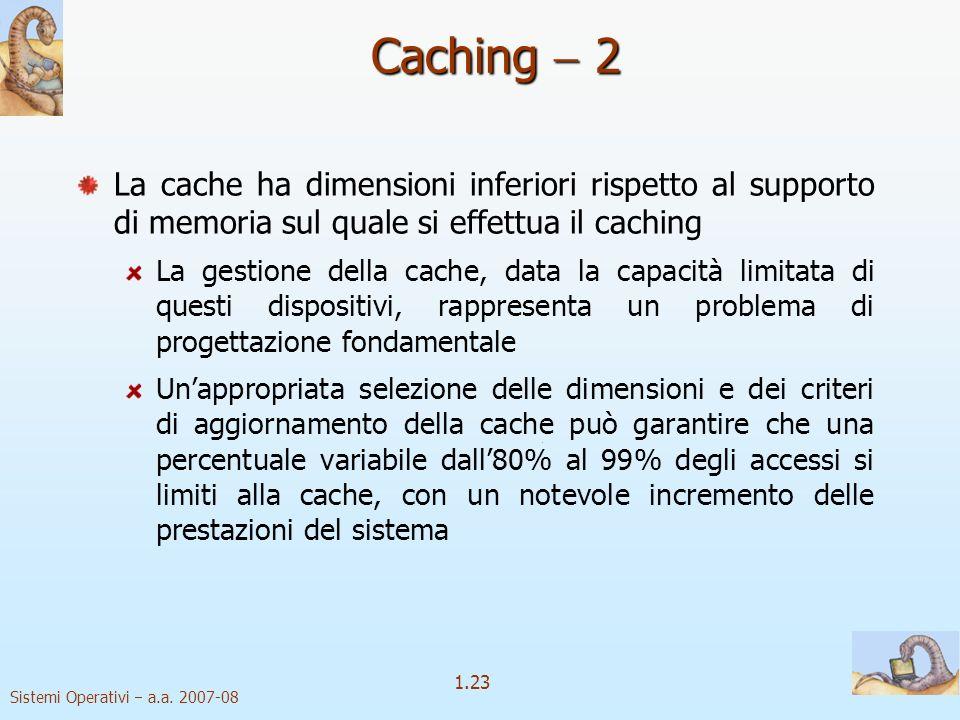 1.23 Sistemi Operativi a.a.