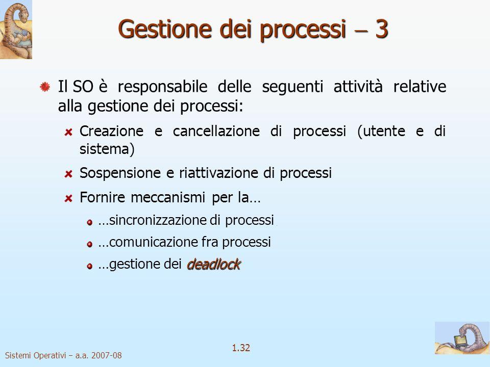 1.32 Sistemi Operativi a.a.