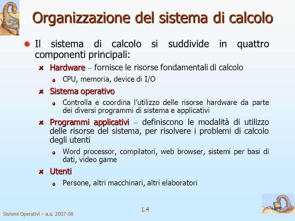 1.4 Sistemi Operativi a.a.