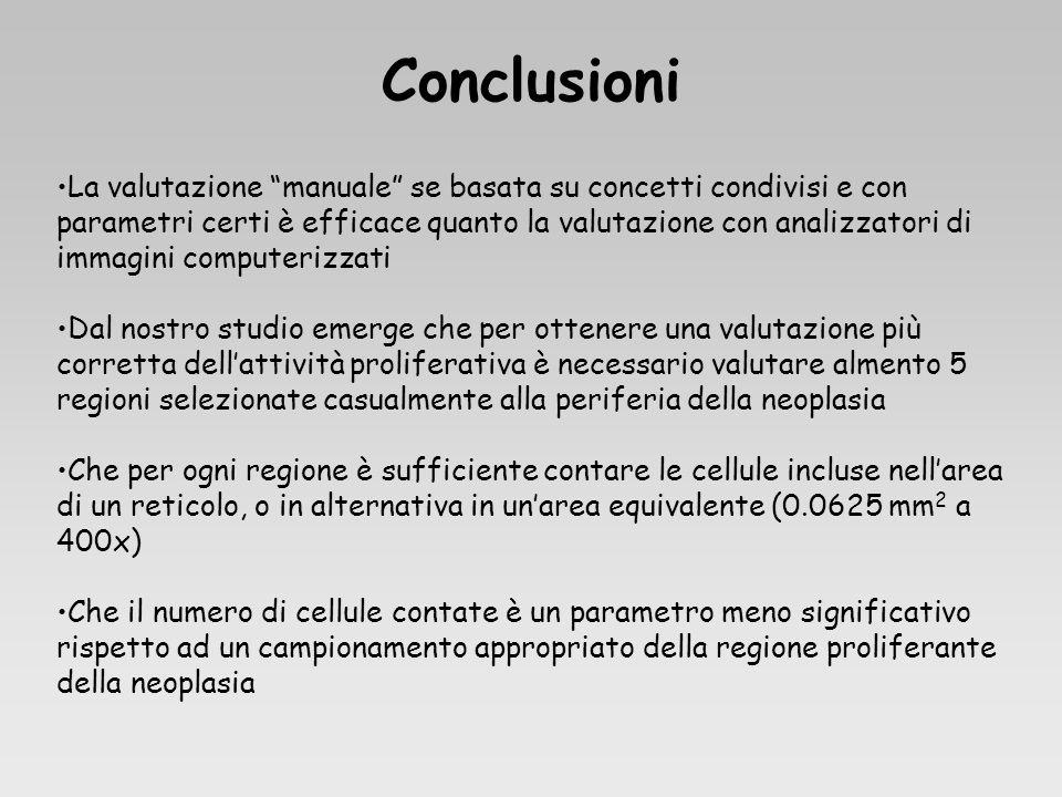 La valutazione manuale se basata su concetti condivisi e con parametri certi è efficace quanto la valutazione con analizzatori di immagini computerizz