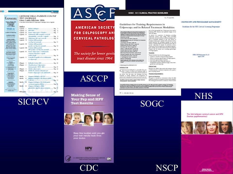 SICPCV ASCCP NHS SOGC CDCNSCP