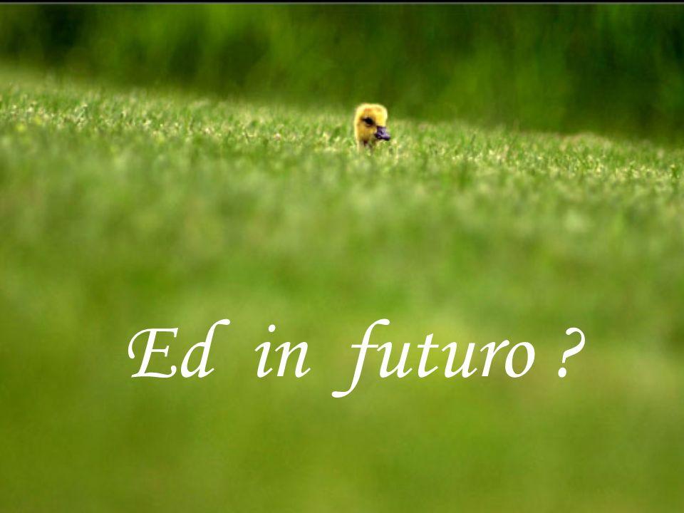 Ed in futuro ?