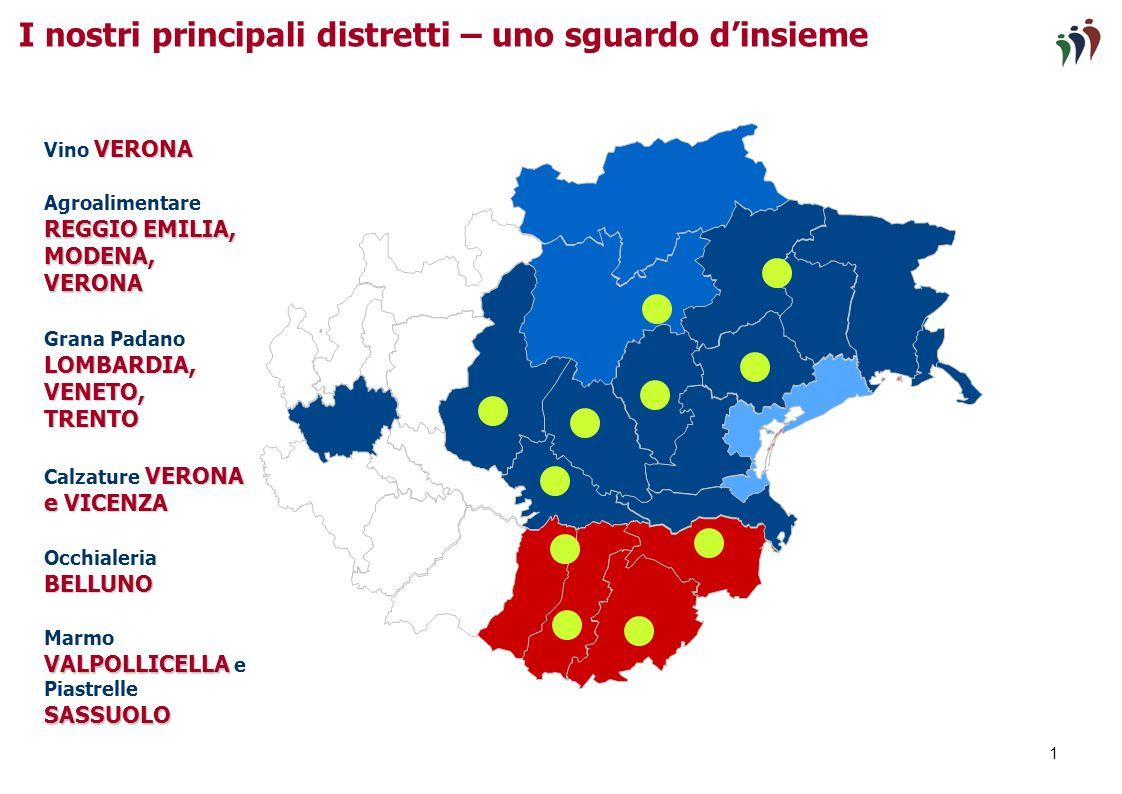 Verona, 29 ottobre 2010 La Banca a supporto dei distretti nel processo di internazionalizzazione Servizio Corporate Funzione Estero