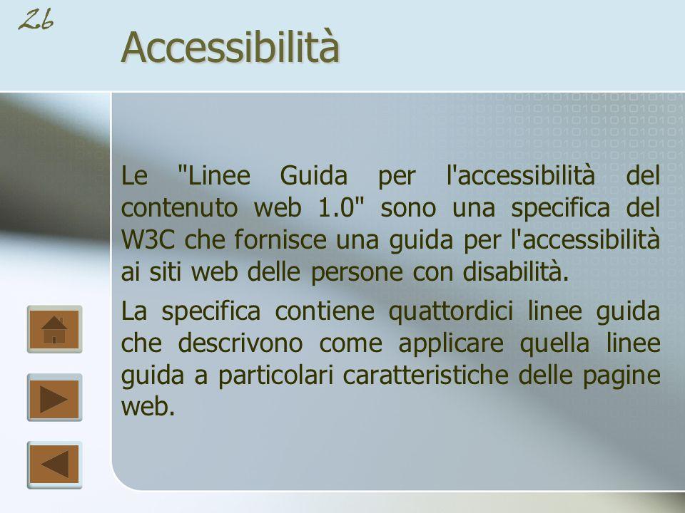 25Accessibilità