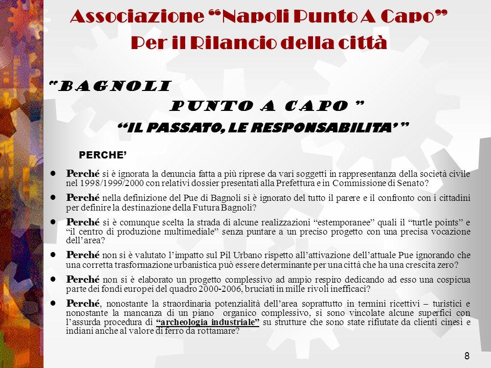 9 PRESENTE E FUTURO BAGNOLI PUNTO A CAPO