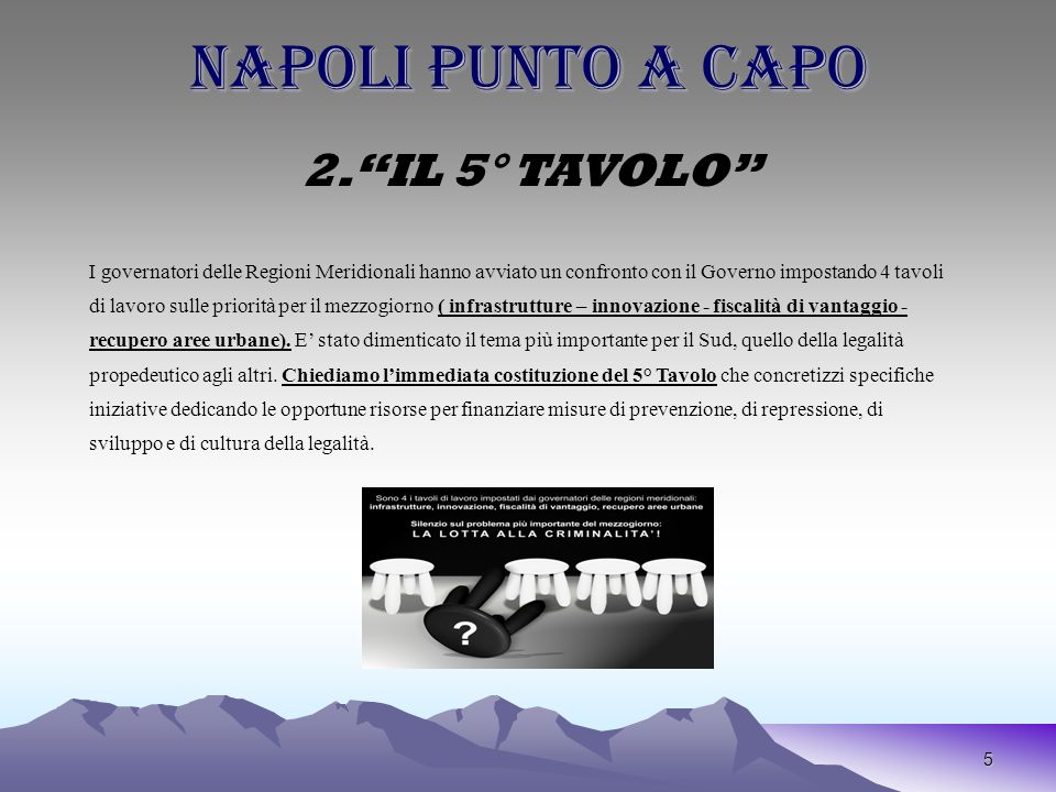 5 NAPOLI PUNTO A CAPO 2.