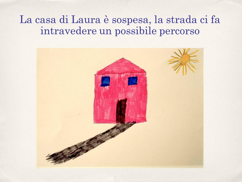 La casa di Laura è sospesa, la strada ci fa intravedere un possibile percorso