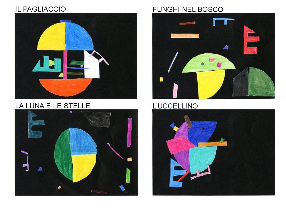 IL PAGLIACCIO FUNGHI NEL BOSCO LA LUNA E LE STELLE LUCCELLINO