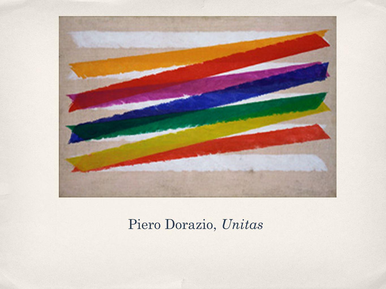 Piero Dorazio, Unitas