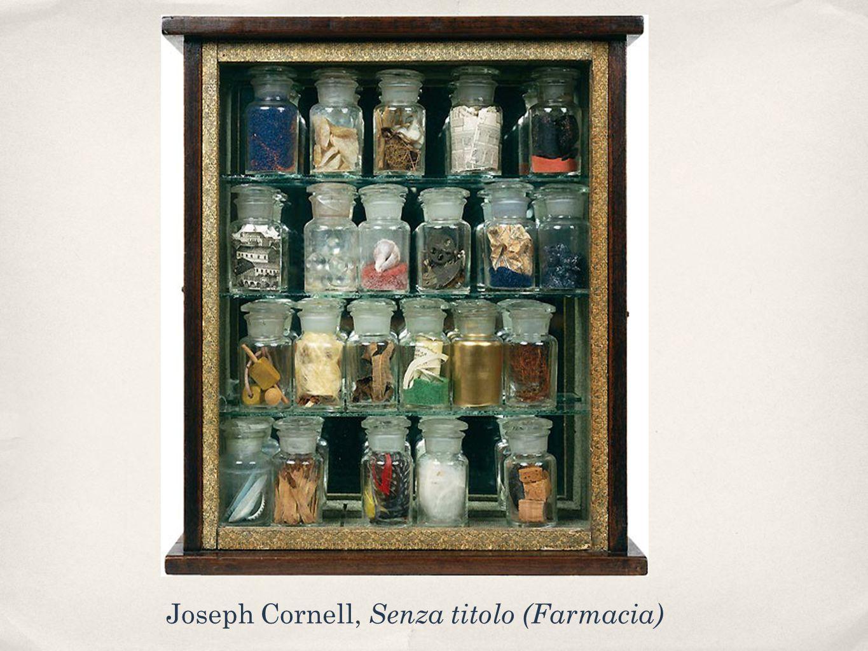Joseph Cornell, Senza titolo (Farmacia)