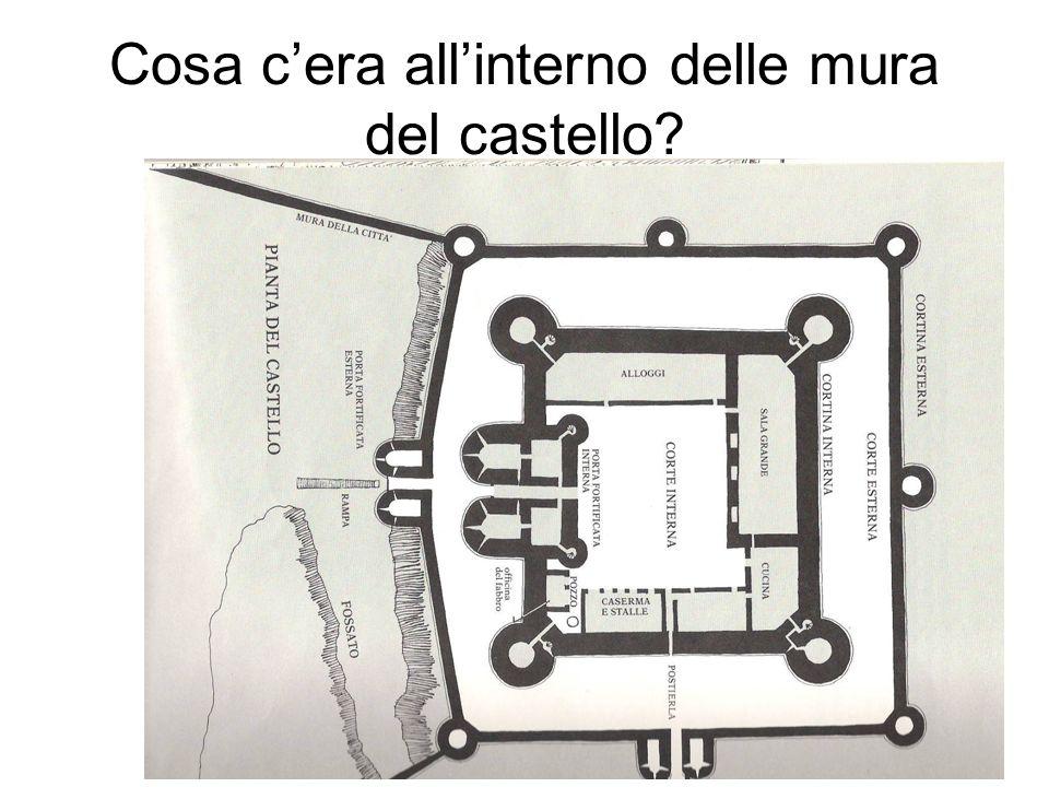 Cosa cera allinterno delle mura del castello?