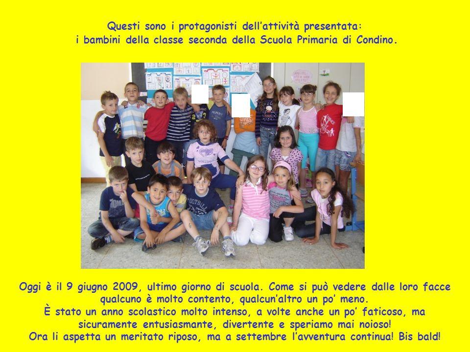 Oggi è il 9 giugno 2009, ultimo giorno di scuola. Come si può vedere dalle loro facce qualcuno è molto contento, qualcunaltro un po meno. È stato un a