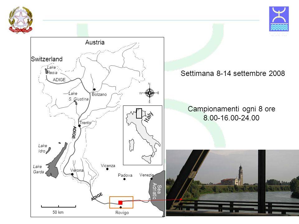 Fondo melmoso Scarsa presenza di sassi e vegetazione sommersa No dead zone Assenza di affluenti