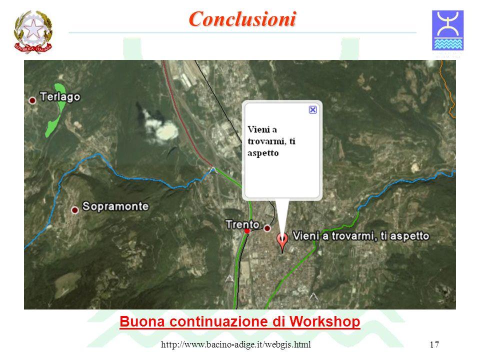 http://www.bacino-adige.it/webgis.html17 Documentazione Manuale WebGIS Adige front-end p.mapper (http://www.bacino-adige.it/Manuale_webgis.pdf) Manual